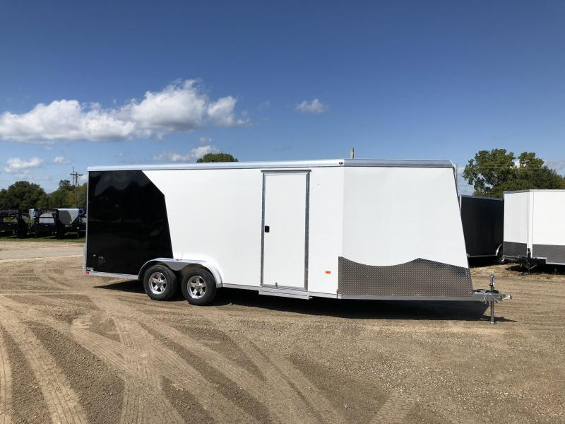 2020 NEO Trailers 7.5X23 Aluminum Snowmobile Trailer