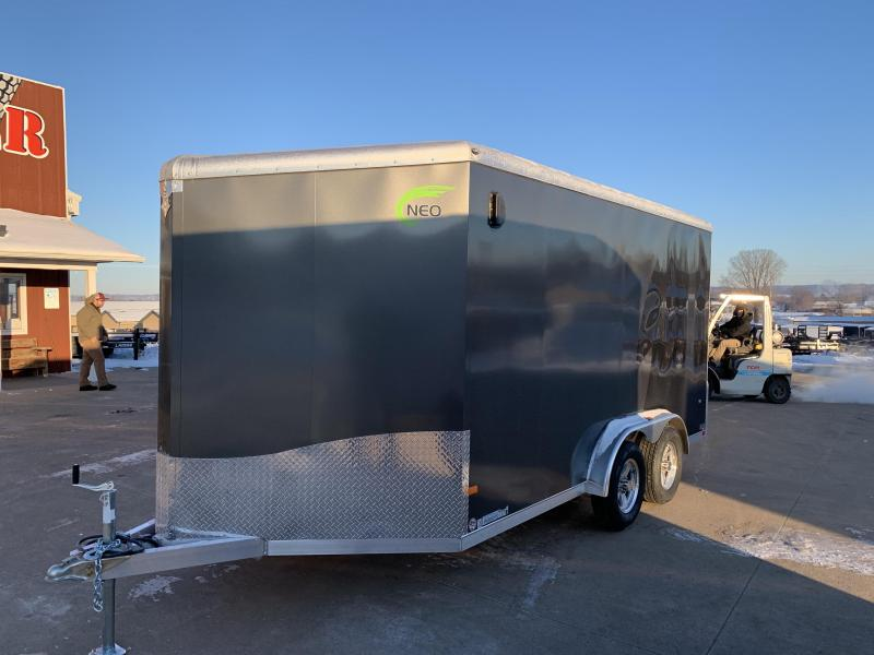 2020 NEO Trailers 7.5X14 Aluminum Enclosed Cargo Trailer