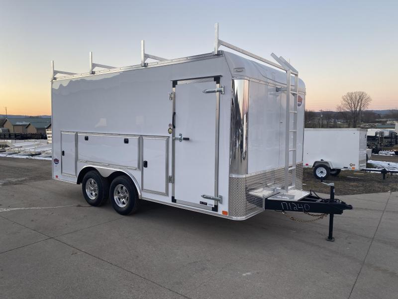2020 United Trailers 8.5X16 Enclosed Tool Crib Cargo Trailer