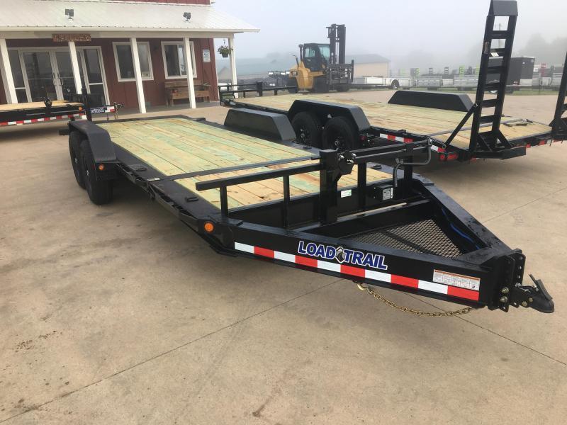 2020 Load Trail 83X20 Gravity Tilt Equipment Trailer