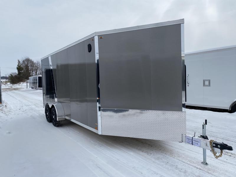 2020 Legend Manufacturing 7X23 Inine Snowmobile Trailer