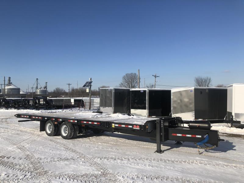 2020 B-B 102X30 Equipment Trailer
