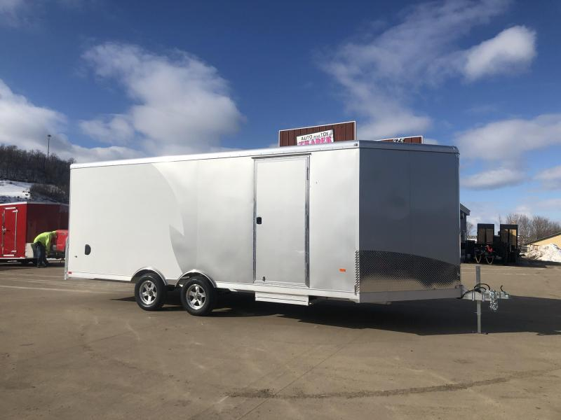 2020 NEO Trailers 8.5X24 Aluminum Snowmobile Trailer