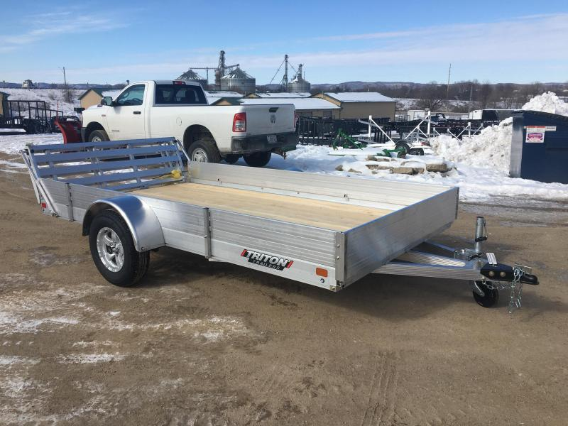 2020 Triton 81X12 Aluminum Utility Trailer