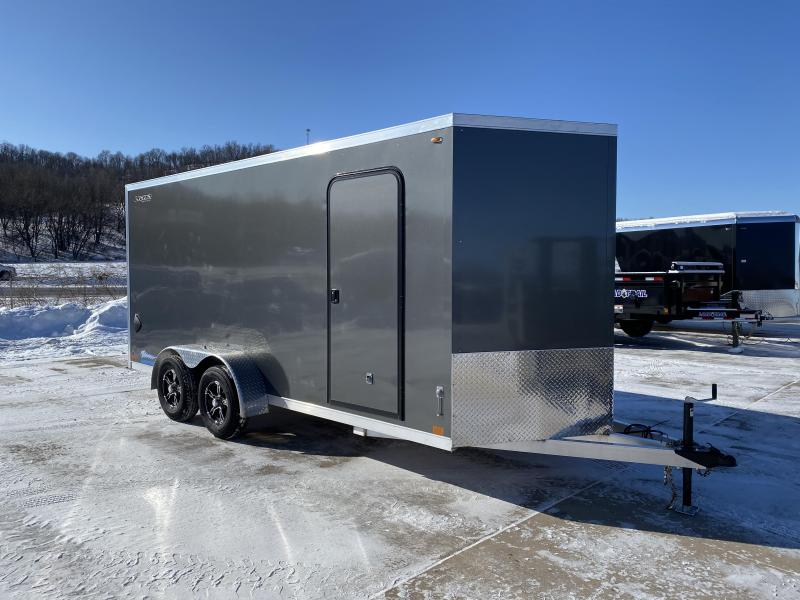 2020 Legend Manufacturing 7X16 Aluminum Thunder Enclosed Cargo Trailer