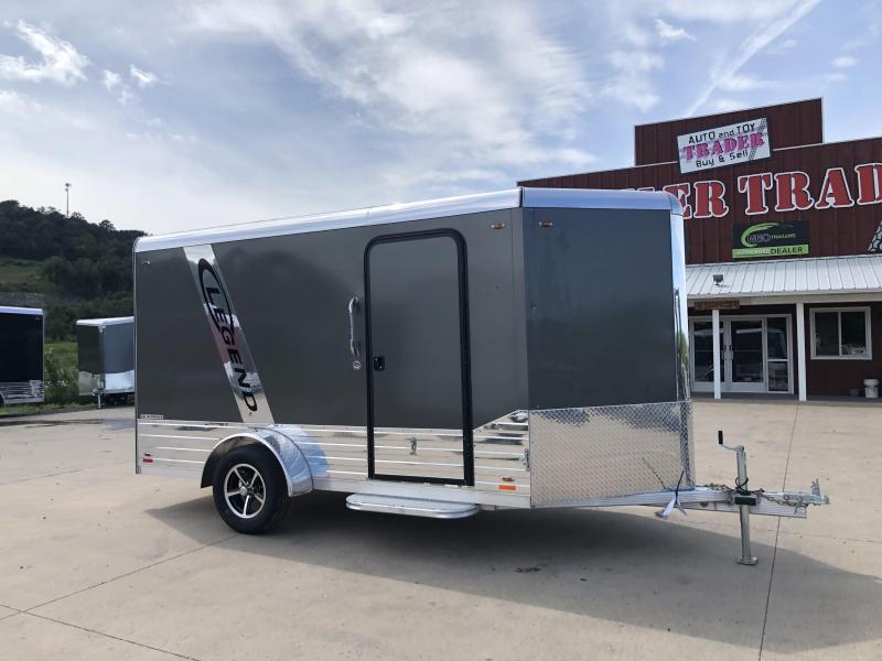 2019 Legend Manufacturing 6X12 DVN Aluminum Enclosed Cargo Trailer