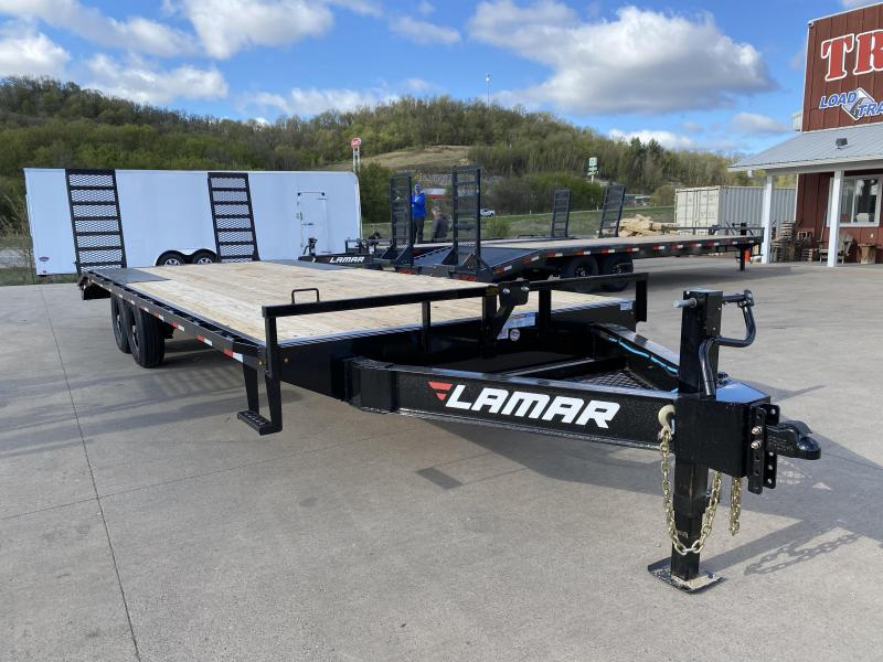 2020 Lamar Trailers 102X24 Deckover Equipment Trailer
