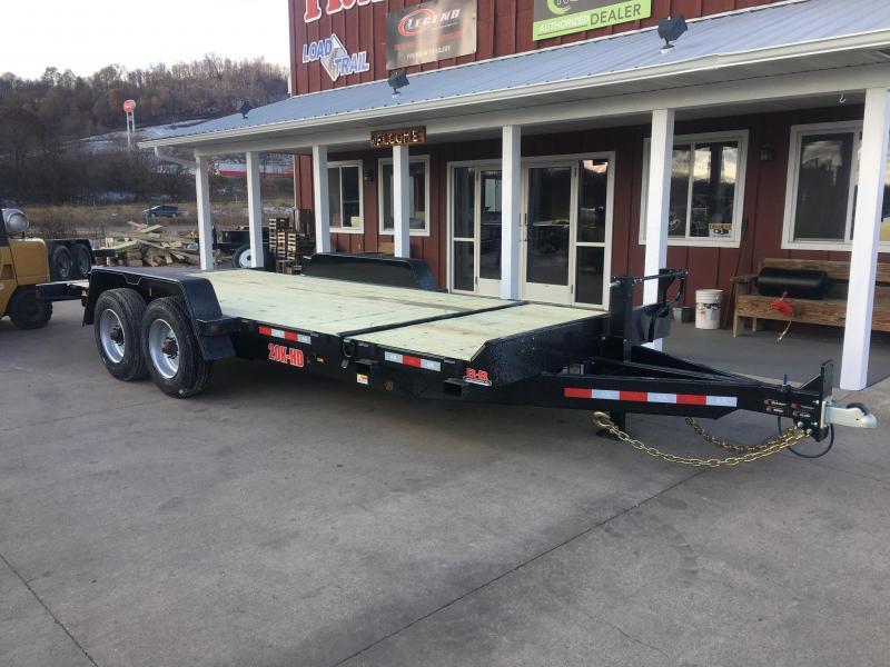 2020 B-B 83X20 Tilt Deck Equipment Trailer
