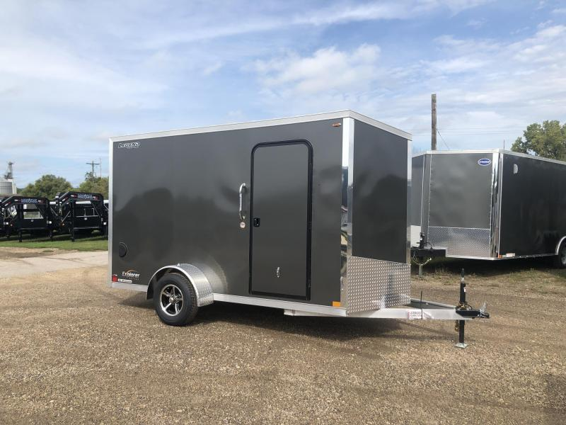 2020 Legend Manufacturing 6X12 Aluminum Enclosed Cargo Trailer