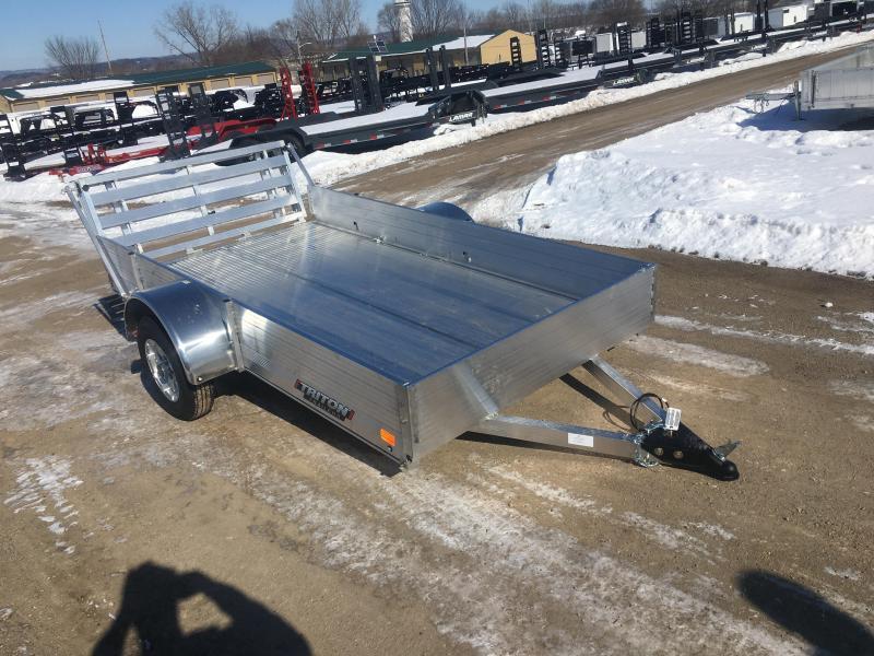 2020 Triton 64X10 Aluminum Utility Trailer