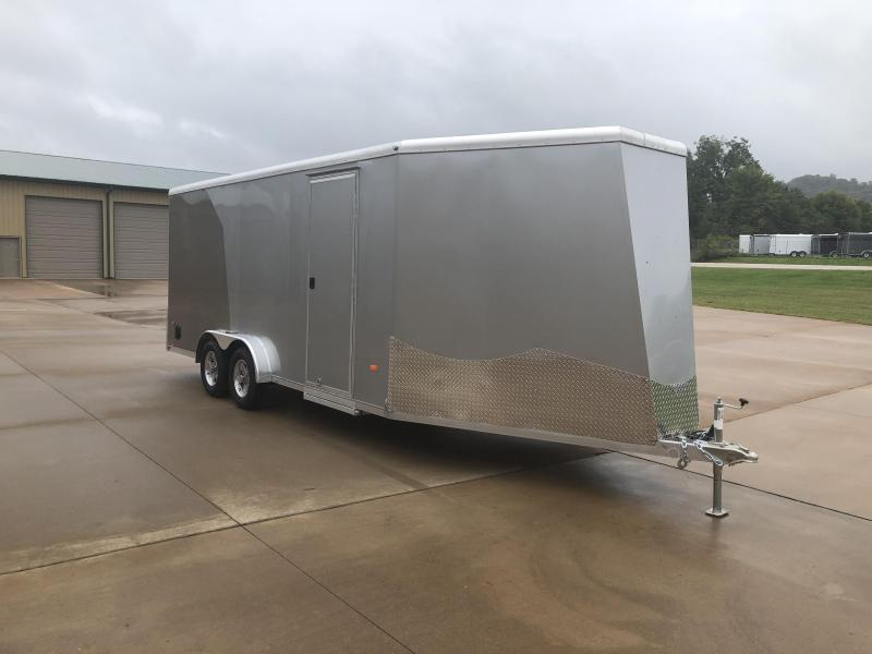 2020 NEO Trailers 7.5X23 Aluminum Snowmobile Trailer
