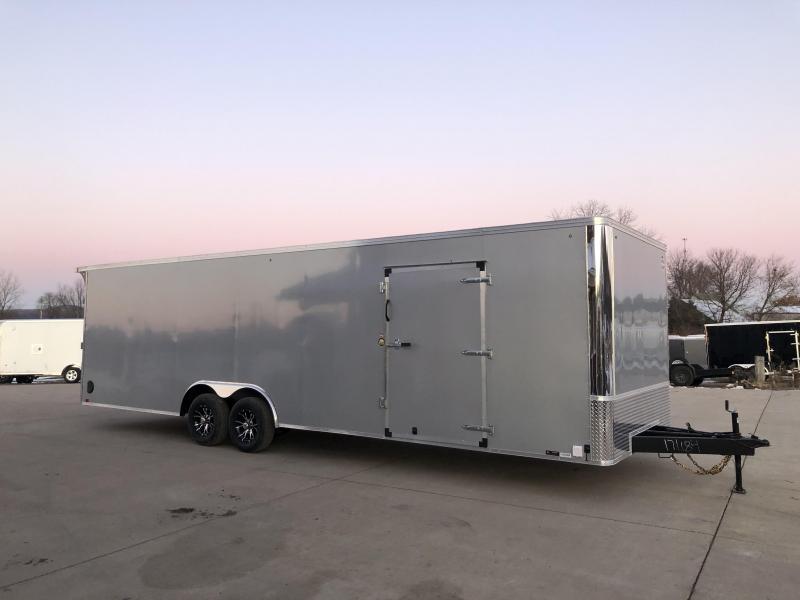 2020 United Trailers 8.5X28 Enclosed Race Basic Cargo Trailer