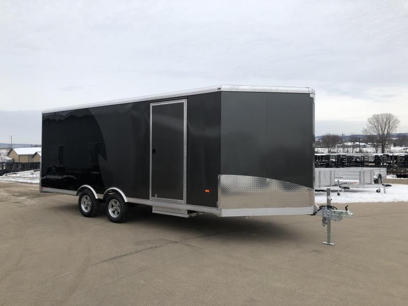 2020 NEO Trailers 8.5X24 Aluminum Snowmobile Trailer