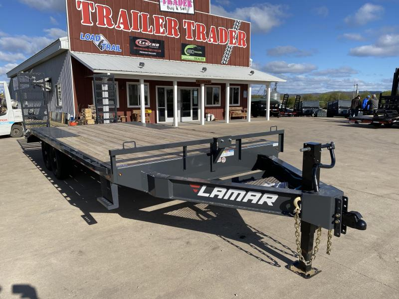 2020 Lamar Trailers 102X20 Deckover Equipment Trailer
