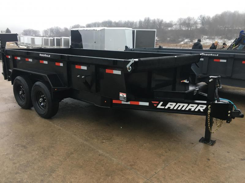 2020 Lamar Trailers 83X14 Low Pro Dump Trailer