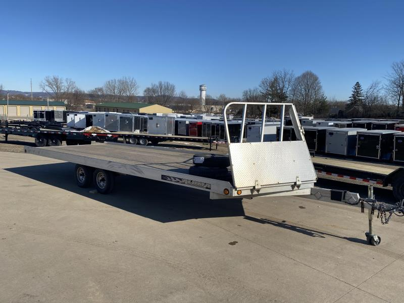 2010 Aluma 102X22 Snowmobile Trailer