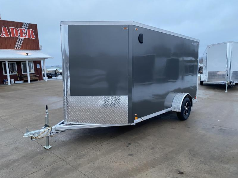 2020 Legend Manufacturing 7X12 FTV Aluminum Enclosed Cargo Trailer