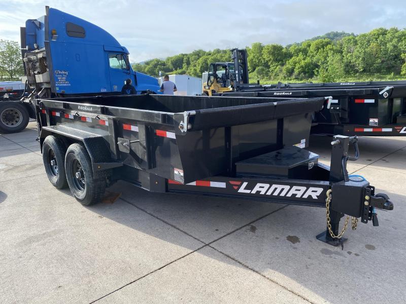 2020 Lamar Trailers 83X12 Low Pro Dump Trailer
