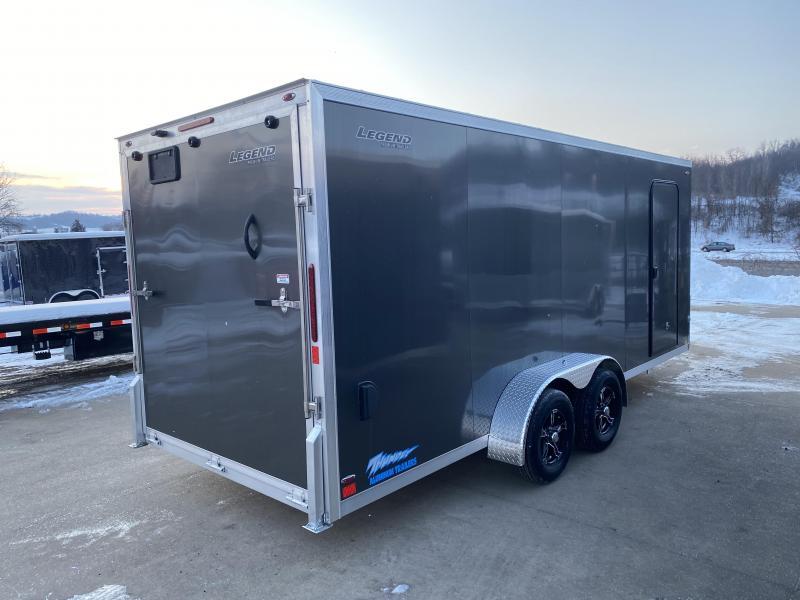 2020 Legend Manufacturing 7X18 Thunder Aluminum Enclosed Cargo Trailer