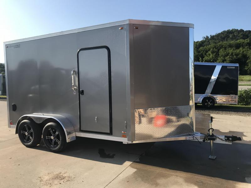 2020 Legend Manufacturing 7X12 FTV Aluminum Enclosed Cargo Trailer