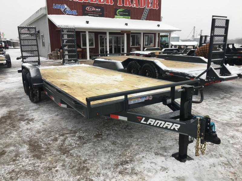 2020 Lamar Trailers 83X20 Car / Racing Trailer