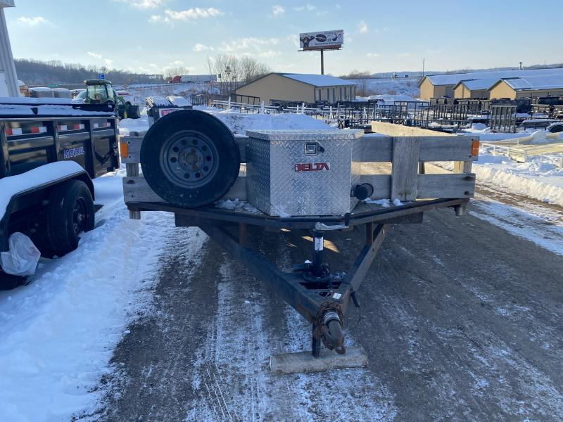 2000 MTLWK 102X18 Deckover Equipment Trailer