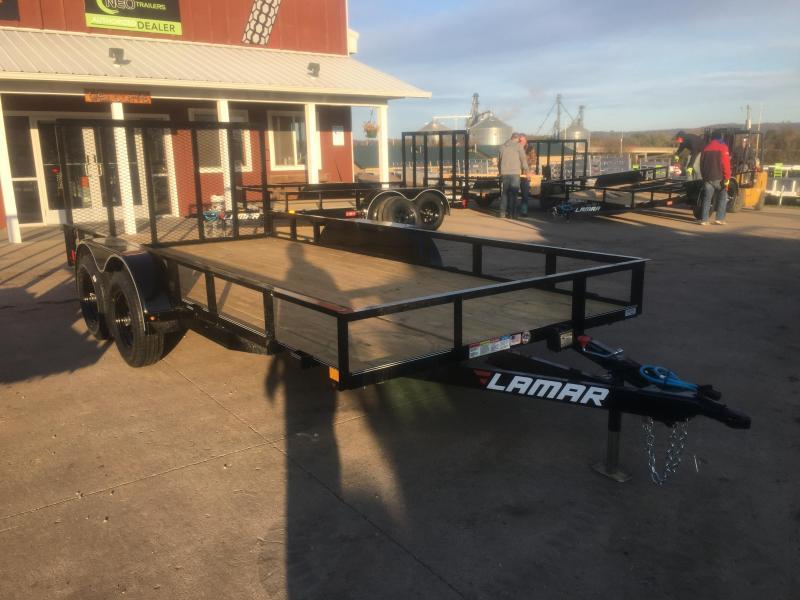 2020 Lamar Trailers 83X16 Tandem Utility Trailer