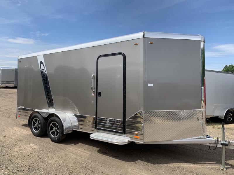 2019 Legend Manufacturing 7X16 DVN Aluminum Enclosed Cargo Trailer