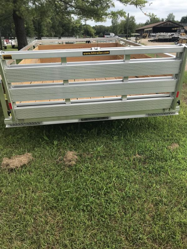2019 H and H Trailer Aluminum 76x10  Landscape