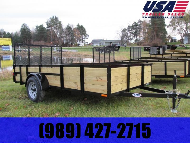Gold Star 5x10 Wood Side Utility Trailer