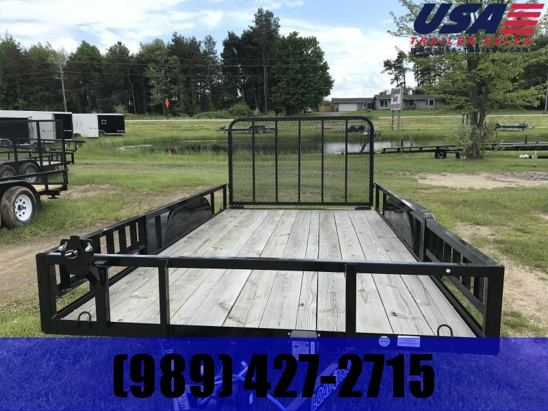 2019 Load Trail SE 14 Side Ramp Utility Trailer