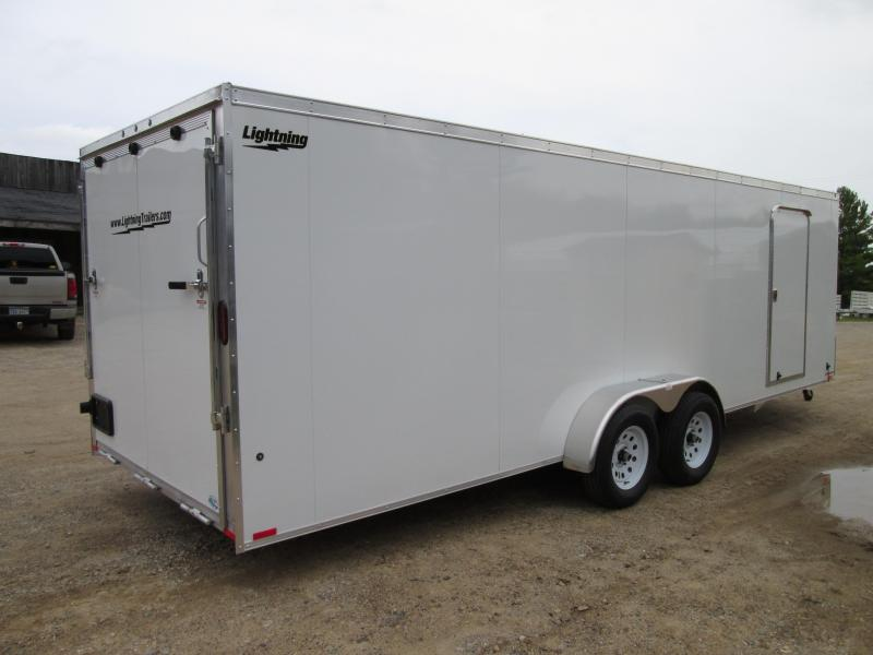 2020 Lightning Trailers 7 x 23+12 Snowmobile Trailer