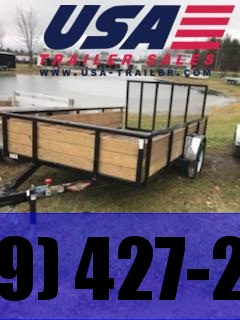 "2020 H and H Trailer 82"" x 14' Steel Utility Trailer"