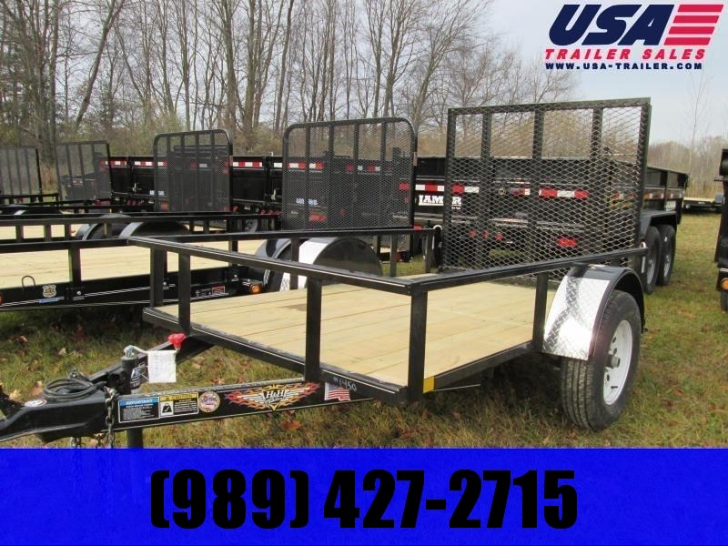 2020 H and H Trailer 76X10 Landscape Utility Trailer