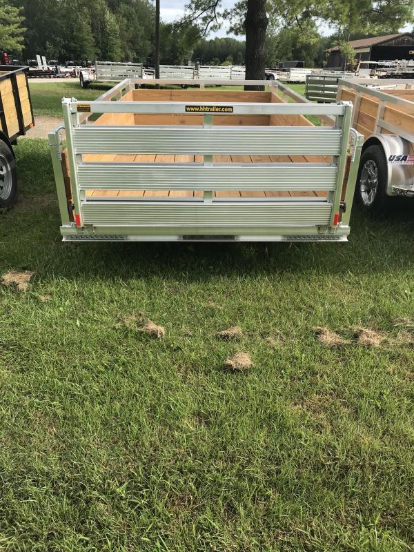 2019 H and H Trailer Aluminum 5.5x10 WOODSIDE Landscape