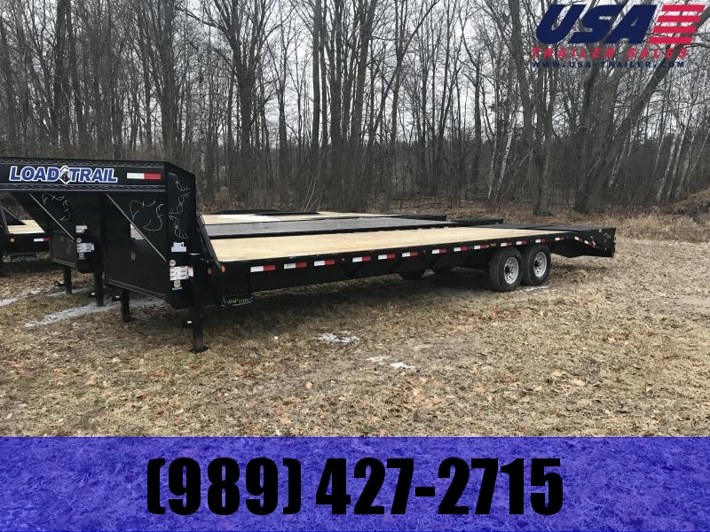 2019 Load Trail 30 Max Ramp Gooseneck Equipment Trailer