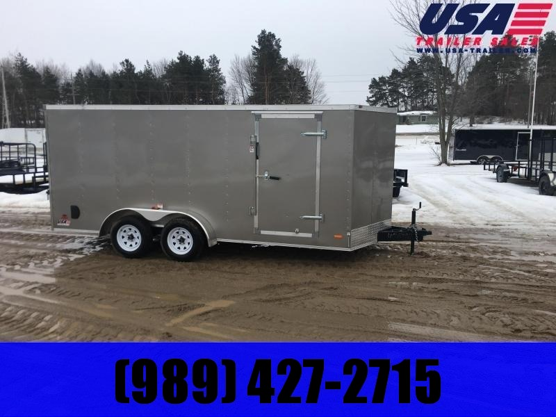 2020 MTI Trailers MWT 7X14TA2 Enclosed Cargo Trailer