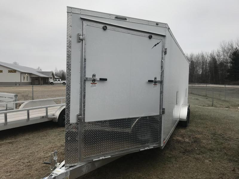 "2020 Lightning Trailers 7 x 19 +12"" height Snowmobile Trailer"