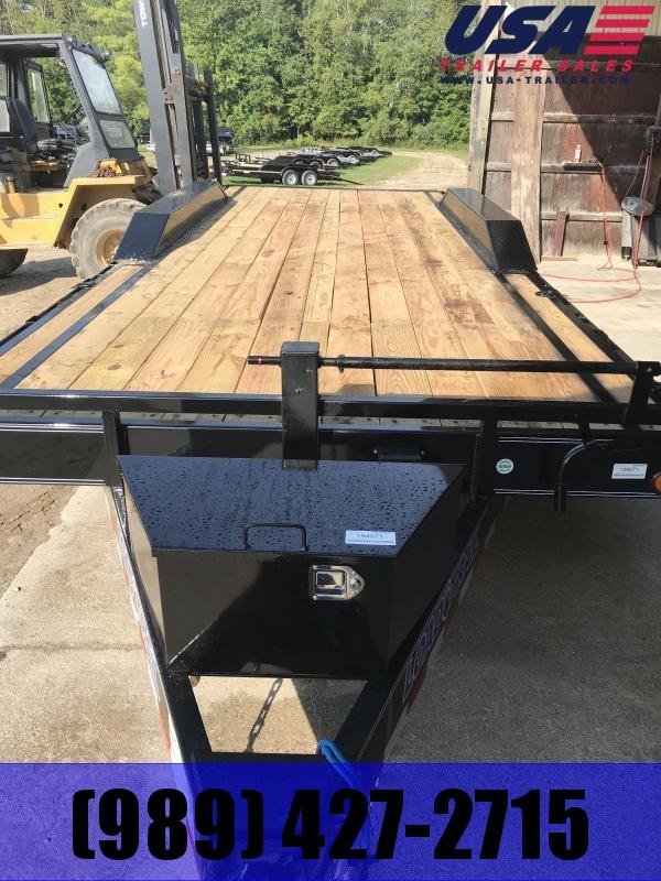 2020 Load Trail 102 X 22' 21K Equipment Trailer