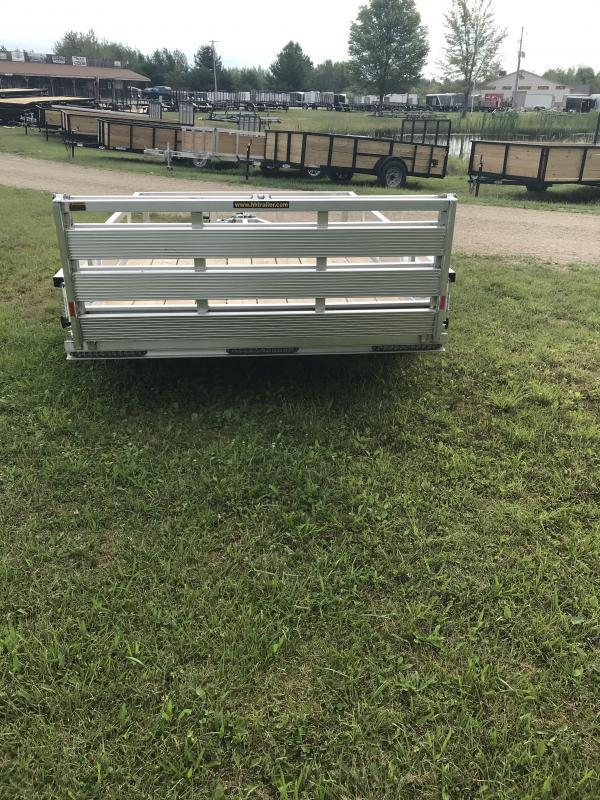 2020 H and H Trailer Aluminum 76x12  Landscape