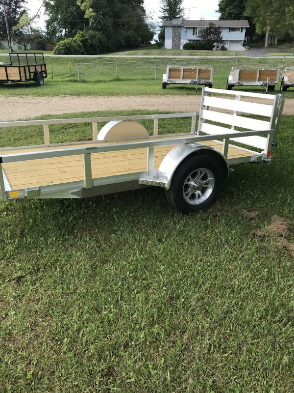 2020 H and H Trailer Aluminum 5x10 Landscape