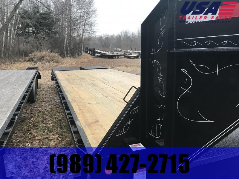 2019 Load Trail 32 Max Ramp  Gooseneck Equipment Trailer