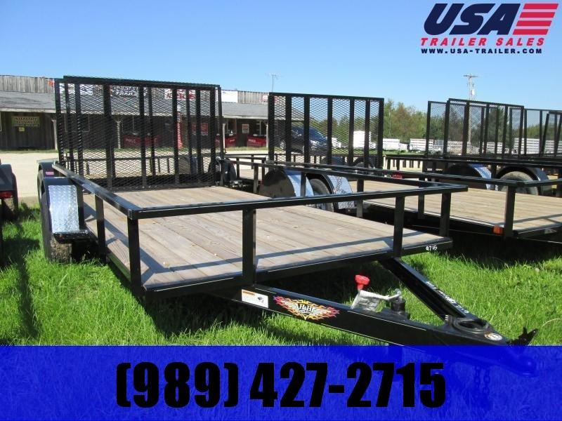 2020 H and H Trailer 82 x 12 Utility Trailer