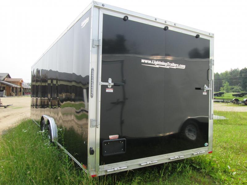 2020 Lightning Trailers 8 x 20 car hauler Enclosed Cargo Trailer