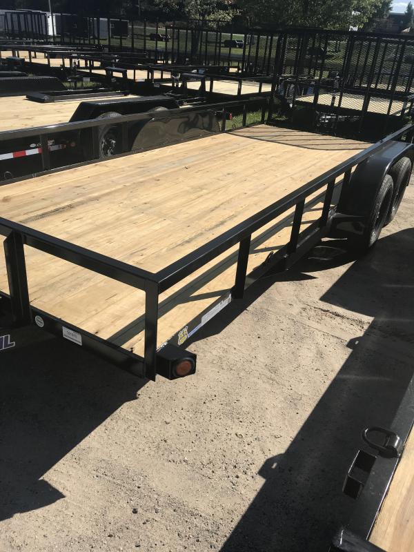 2020 Load Trail 18' 7K Utility Trailer