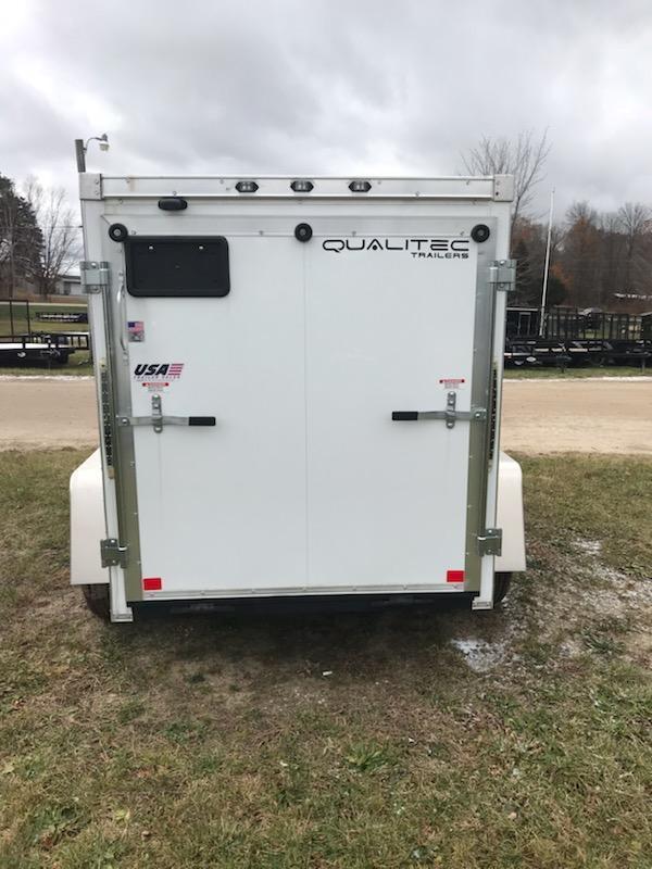 2019 MTI Trailers 4x6 white Enclosed Cargo Trailer