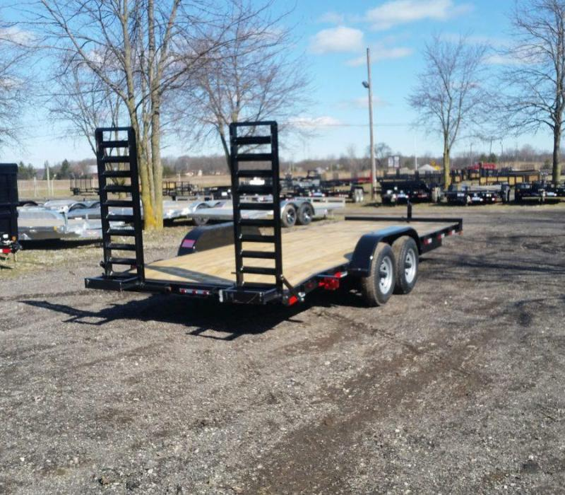 82 x 20 A.M.O. Equipment Trailer TA3