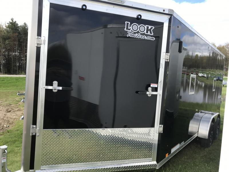 New 7X23 3 Place Aluminum Snomobile Trailer ADDED HEIGHT