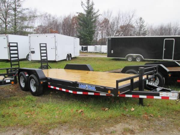 Equipment Trailer Load Trail H-Duty 14K