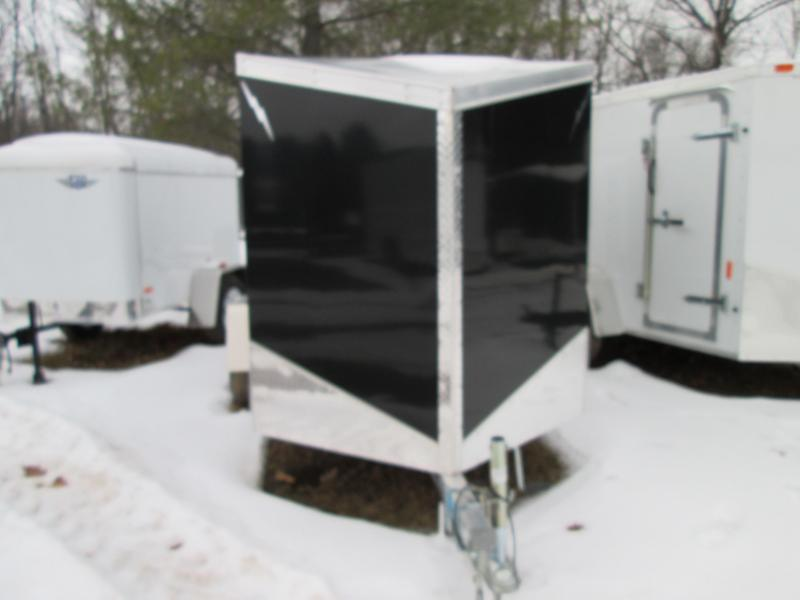 2020 Lightning Trailers 5x8 Black Enclosed Cargo Trailer